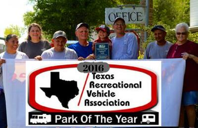 Texas RV park of the year