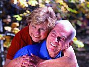 Young seniors in love. Oleander Acres RV Mission, TX